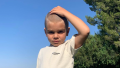 Reign Disick Shaved Head