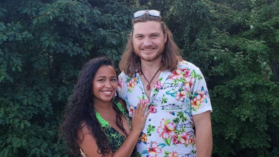 90 Day Fiance's Syngin and Tania