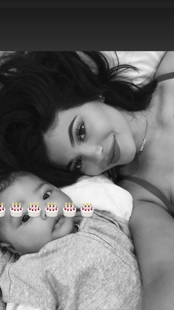 Travis Scott Gives Kylie Jenner a Birthday Shout-Out, Shares Photos with Stormi Webster