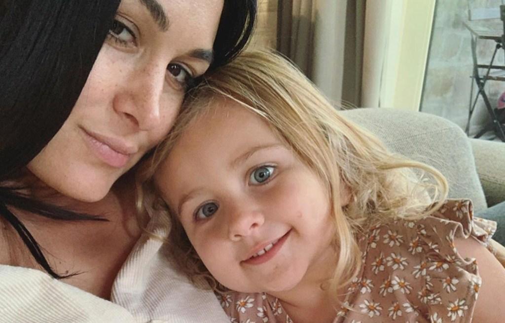 Brie Bella and Daughter