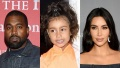 kanye west dances with north while kim laughs
