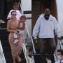 kim kardashian kanye west return family vacation amid drama