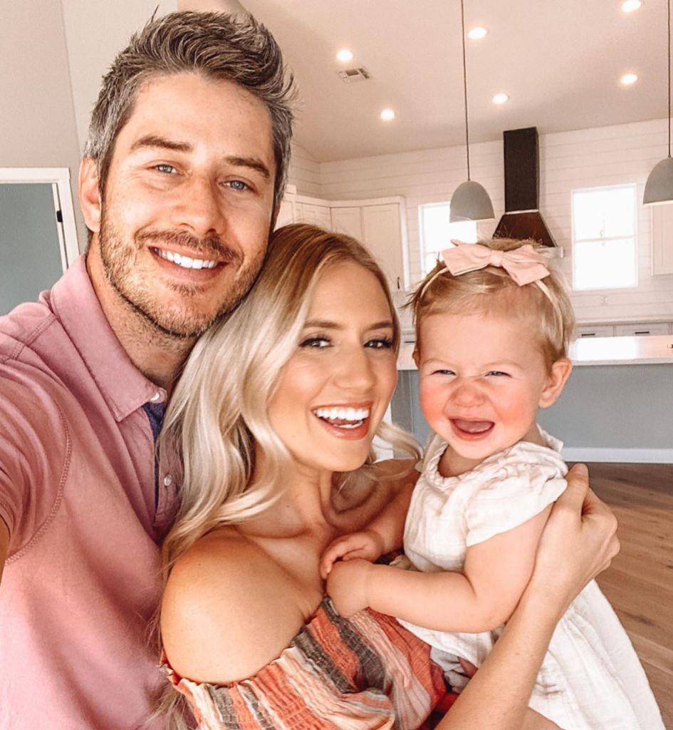 Lauren Burnham and Arie Luyendyk Jr and Daughter Alessi
