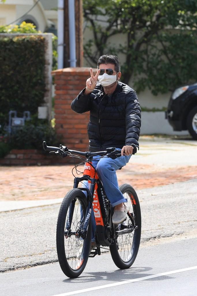 simon cowell bike
