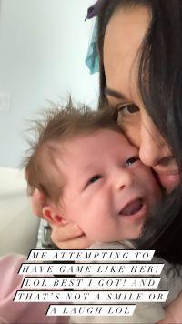 Nikki Bella Selfie With Son Matteo