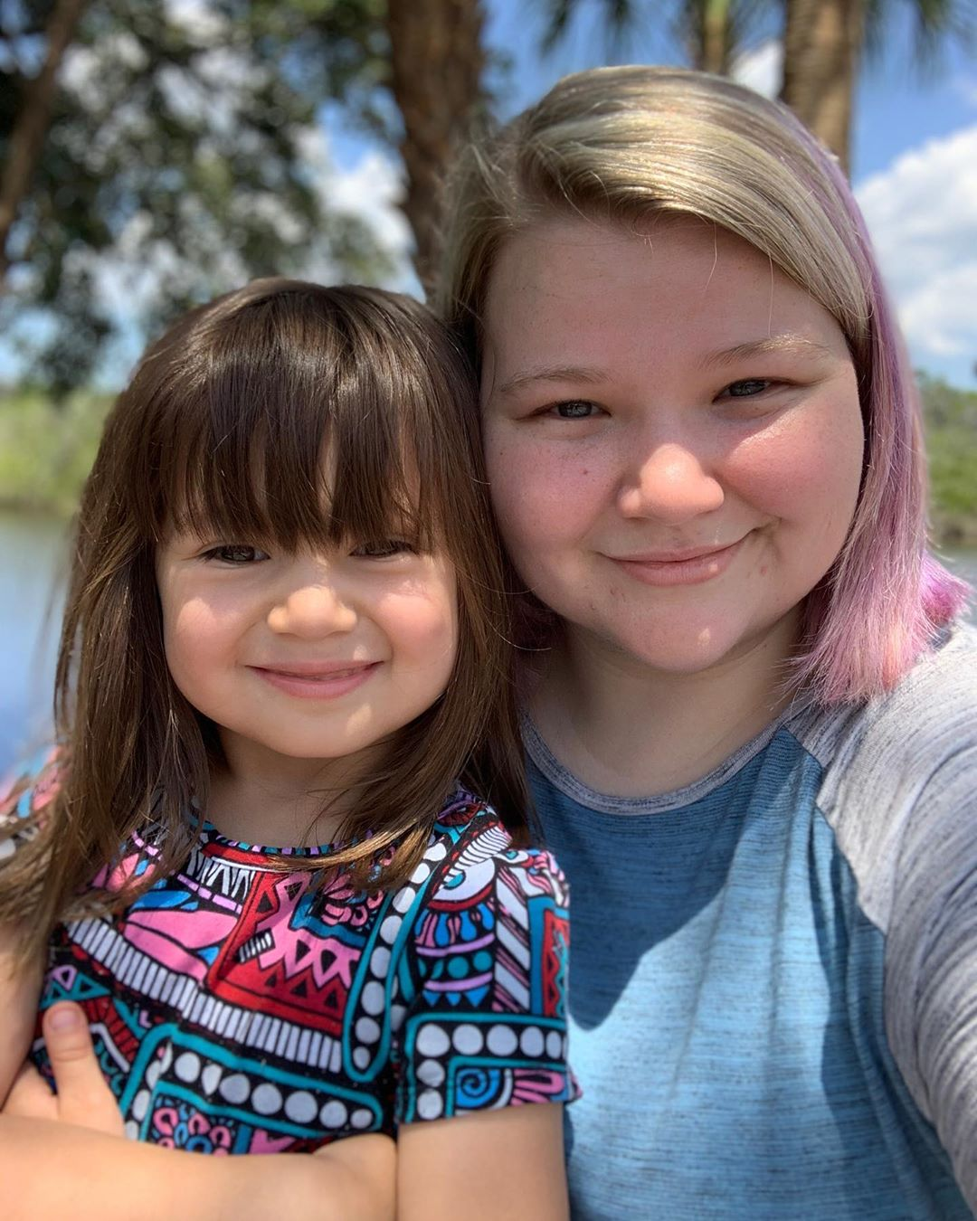 Nicole Nafziger and Daughter May