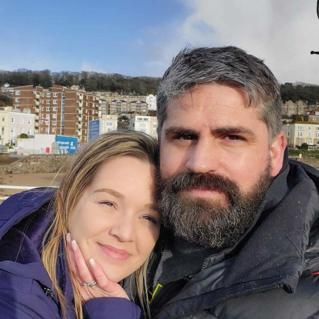 Jon and Rachel Walters Selfie
