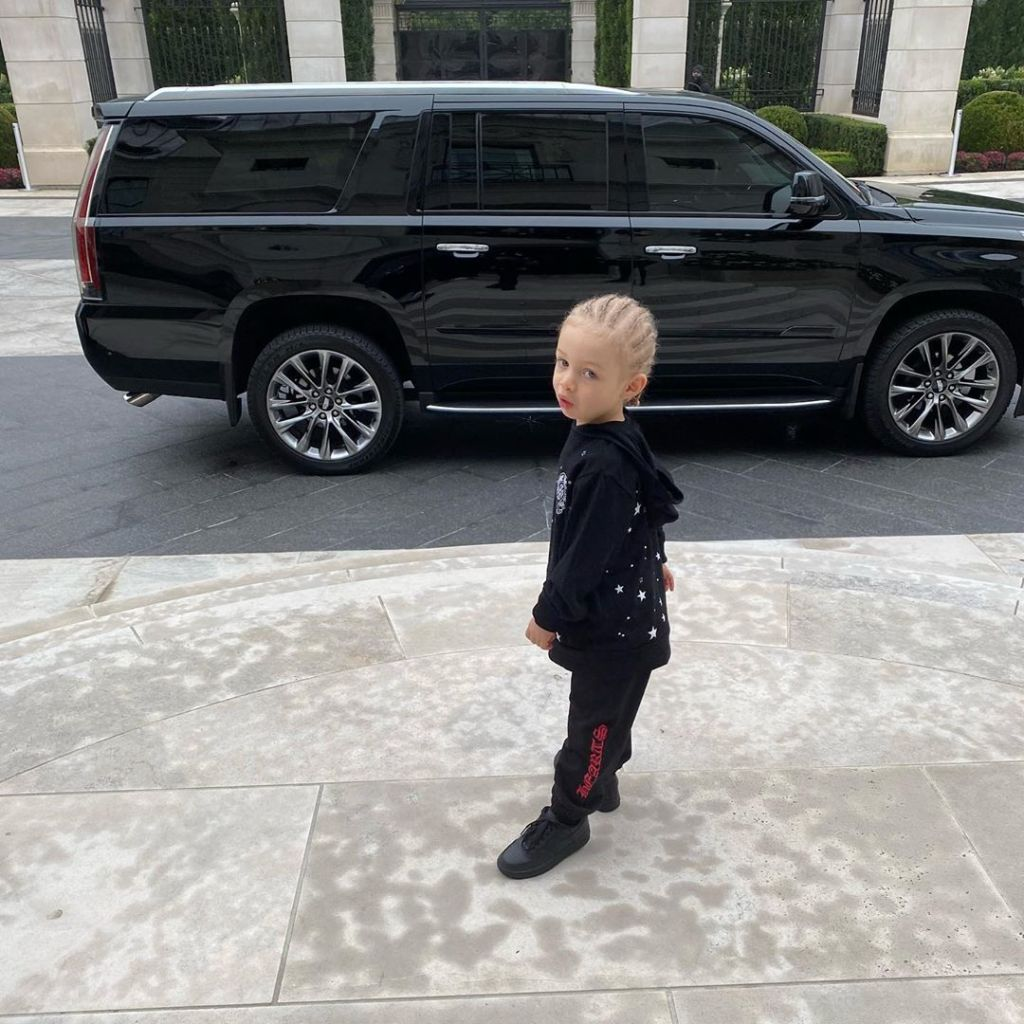 Drake Shares Rare Photo of Son Adonis on His 1st Day of School