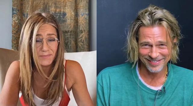 Jennifer Aniston and Brad Pitt Flirt Furing 'Fast Times' Table Read