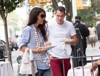 Katie Holmes and New Boyfriend Emilio Vitolo Show PDA While Out for a Walk in NYC