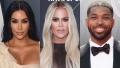 Kim Kardashian Works Out With Khloe Kardashian and Tristan Thompson