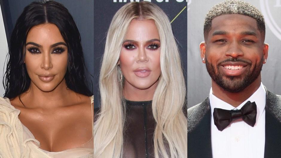Kim Kardashian Works Out With Khloe Kardashian and Tristan Thompson