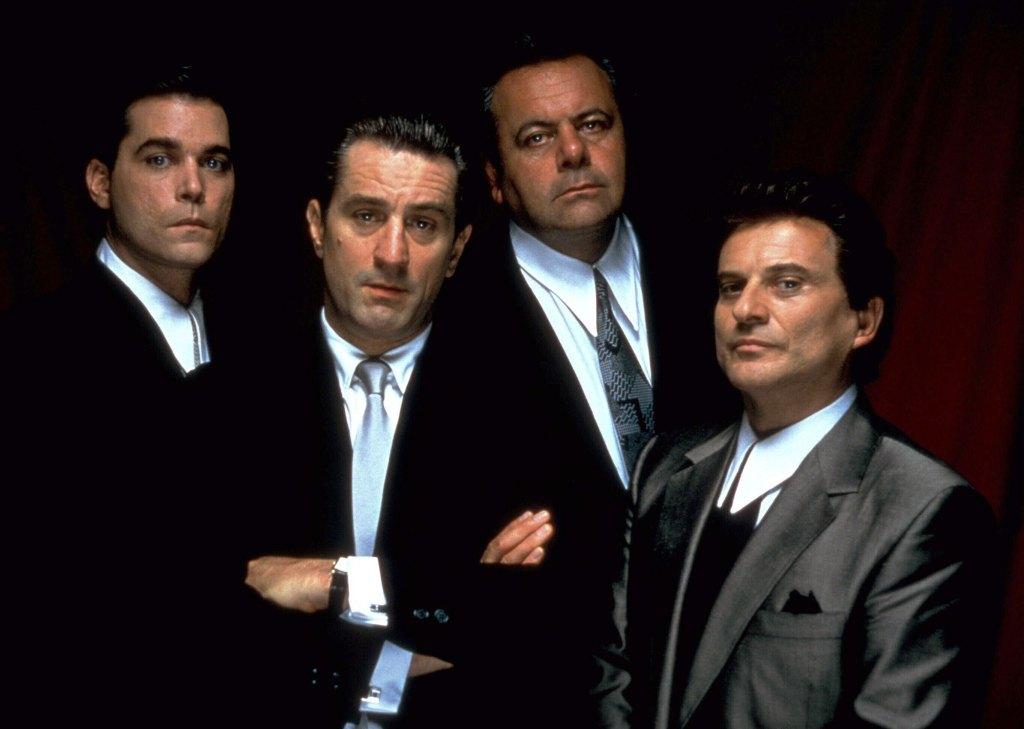 Ray Liotta, Robert De Niro, Paul Sorvino, Joe Pesci Goodfellas