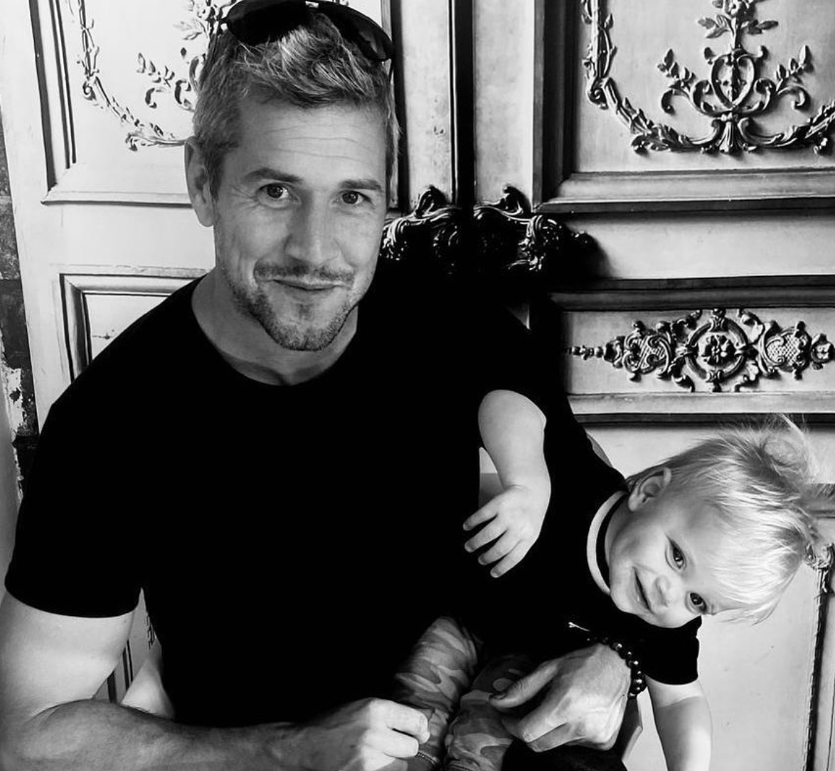 Ant Anstead With Son Hudson