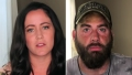 Side-by-Side Photos of Jenelle Evans and David Eason