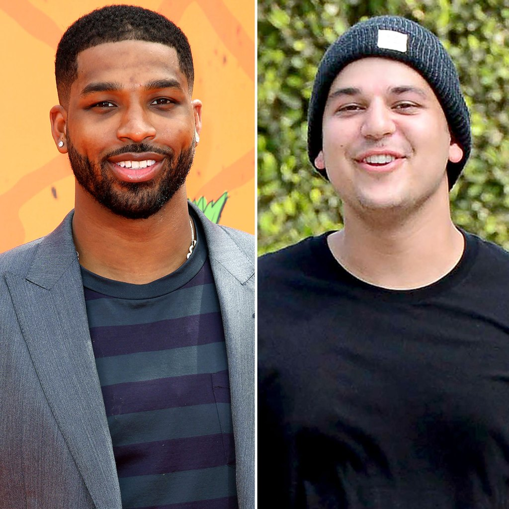Tristan Thompson Rob Kardashian Close Friendship