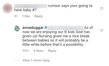 anna duggar pregnant baby no 7 rumors