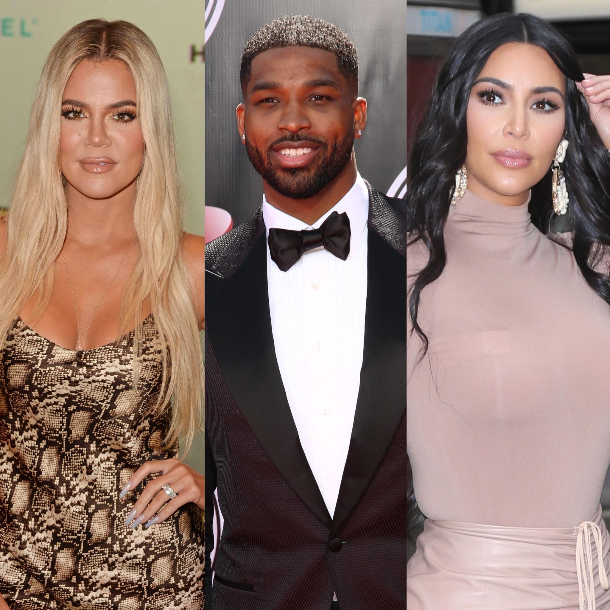 Khloe Kardashian Tristan Thompson Film KUWTK With Kim