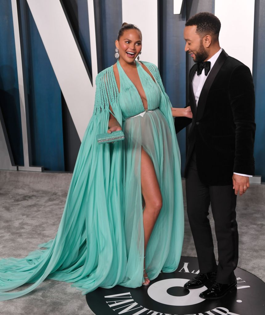 Chrissy Teigen and John Legend Having a Boy