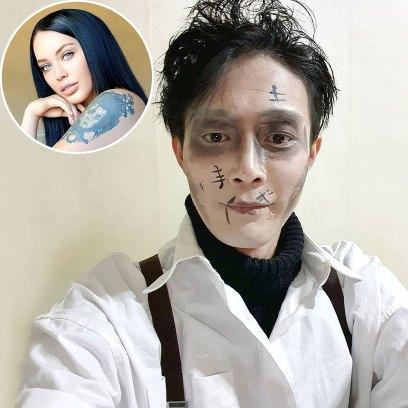 90 Day Fiance Jihoon Dresses Up Edward Scissorhands Halloween After Deavan Split
