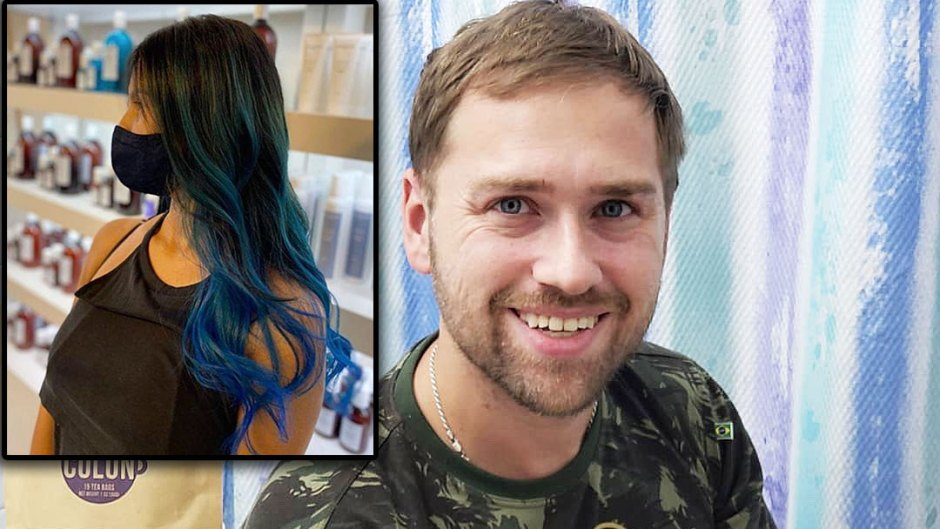 90 Day Fiance Star Paul Staehle Shows Off Karines Blue Hair Makeover After Reconciliation