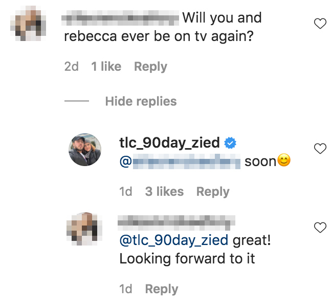 90 Day Fiance's Zied Confirms He and Rebecca Will Be on Reality TV Again Soon