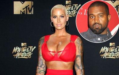 Amber Rose Blasts Ex Kanye West for Slut-Shaming