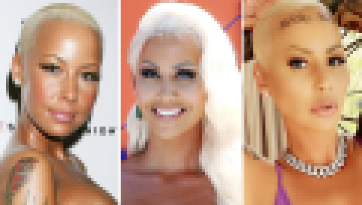 Amber Rose Transformation