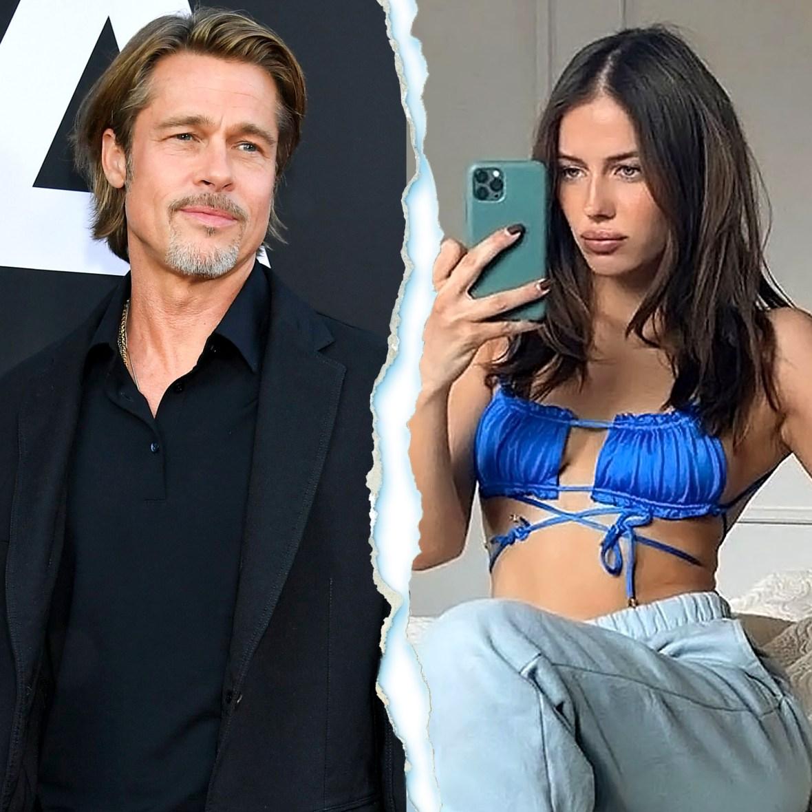 Brad Pitt Is Upset After Split From Model Girlfriend Nicole Poturalski