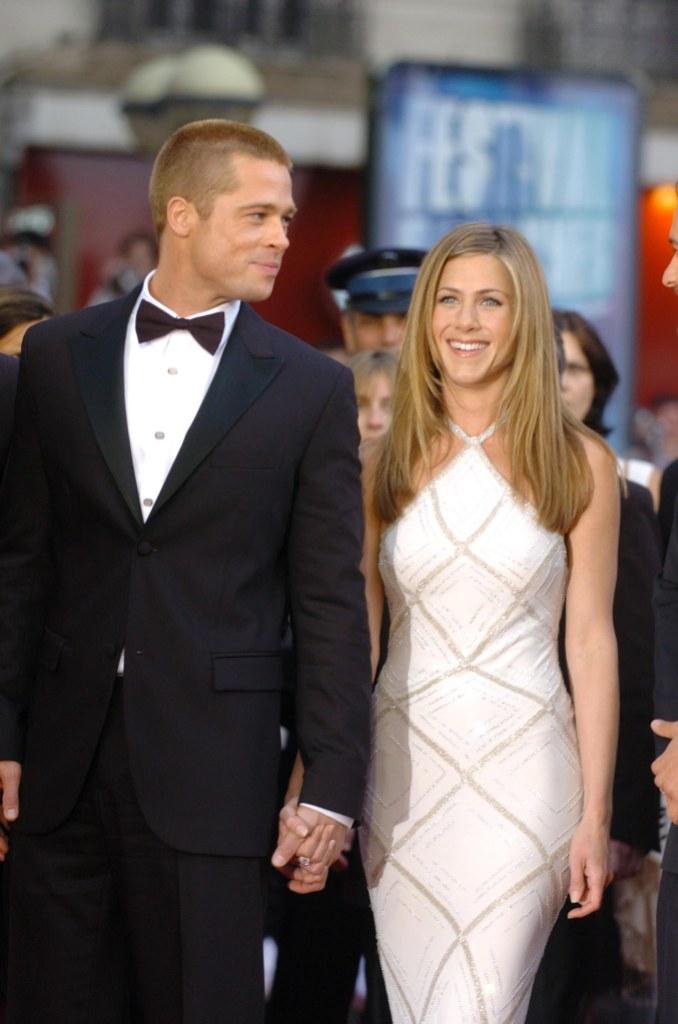 Brad Pitt and Jennifer Aniston 2004 Cannes Film Festival