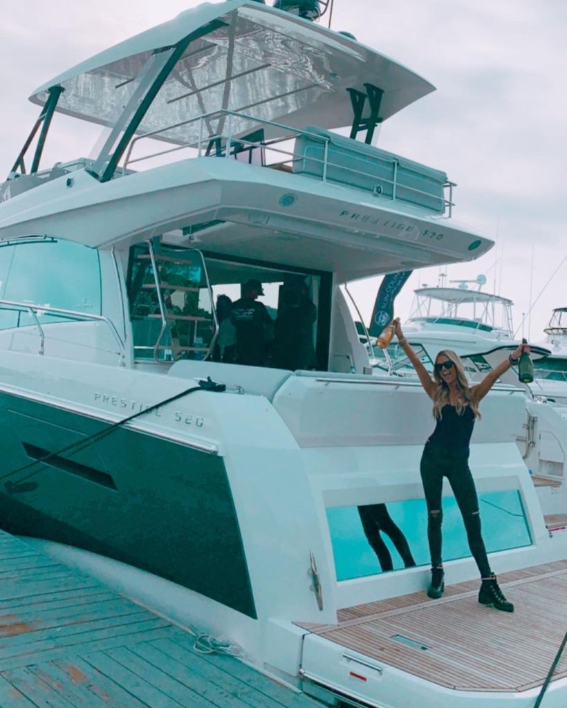 Christina Anstead Buys Boat With Shady Name After Ant Anstead Breakup