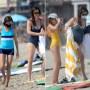 Jennifer Garner Rocks Bathing Suit With Violet and Seraphina