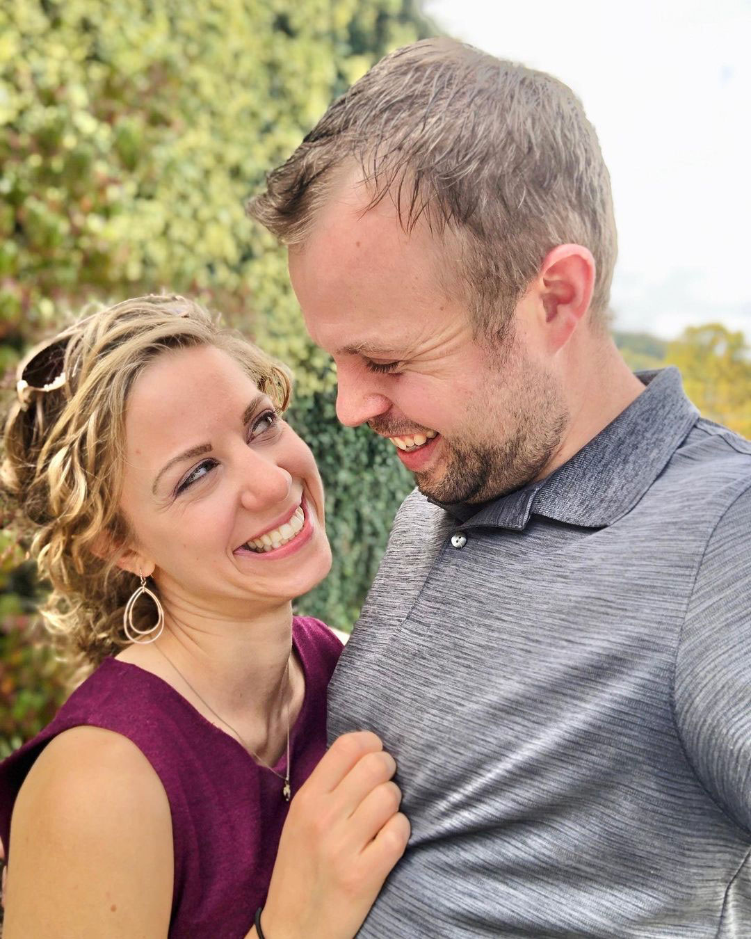 John David Duggar and Wife Abbie Look Smitten in PDA Photo Ahead of 2nd Wedding Anniversary