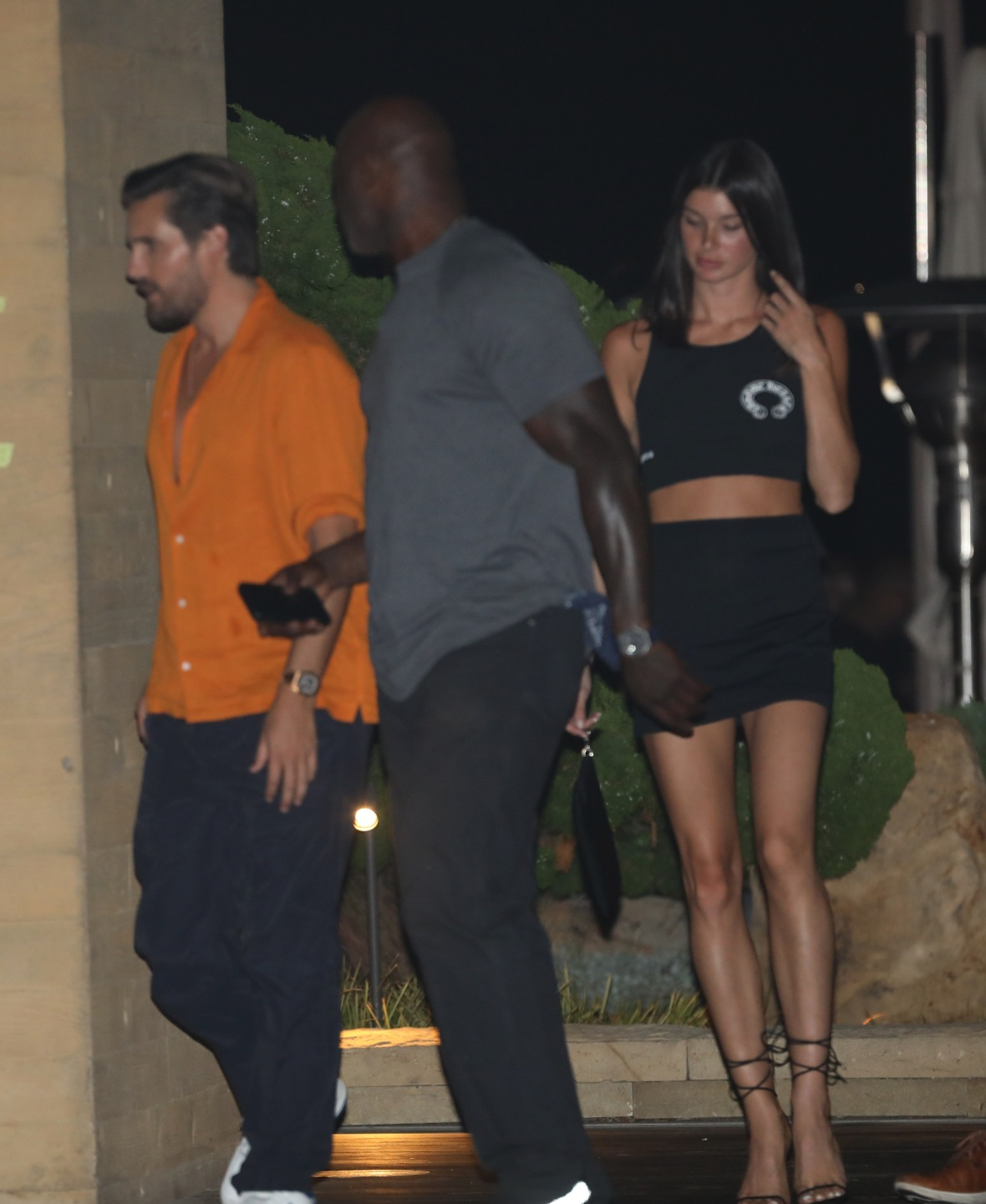 Scott Disick and Model Bella Banos Spotted on Nobu Date in LA