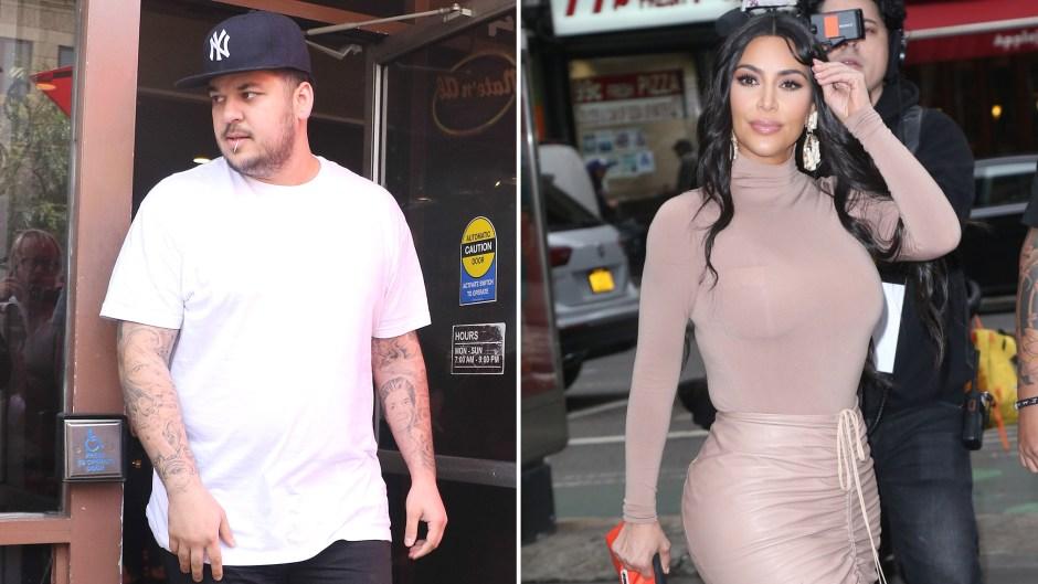 Rob Kardashian Makes Rare Appearance at Kim's Birthday Amid Weight Loss