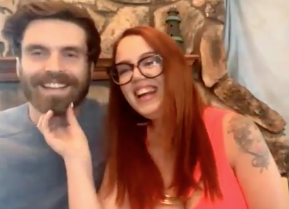 Jess and New Husband Brian
