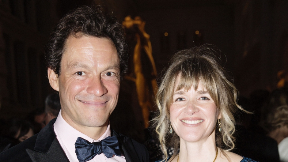 dominic west wife didnt watch the affair before lily james scandal
