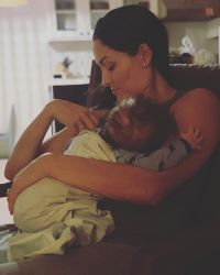 Nikki Bella and Baby Matteo
