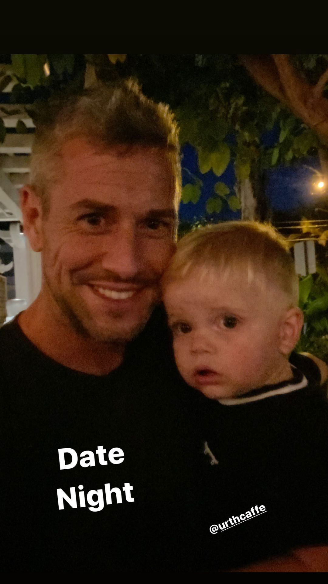 Ant Anstead Shares Photo From Date Night With Son Hudson Hours Before Wife Christina Files for Divorce