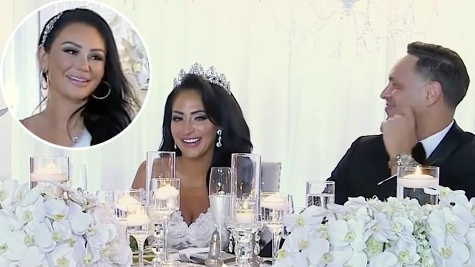 Jenni Farley Reflects on Notorious Angelina Wedding Speech