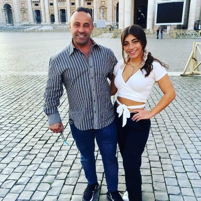 Joe Giudice Reunites With Daughters Gia and Milania in Italy