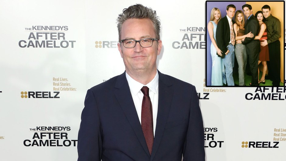 Matthew Perry Teases Busy Year and Return to the Spotlight With Friends Costars