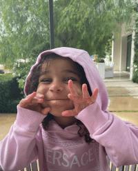 Dream Kardashian Is a Daddy's Girl