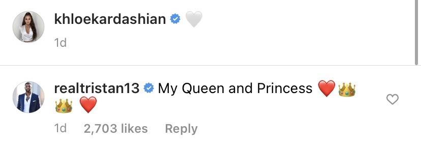 Tristan Thompson Flirts With 'Queen' Khloe Kardashian Amid Move