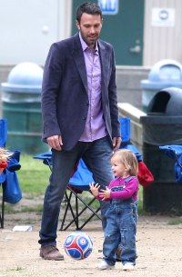 2010 Seraphina Ben Affleck and Jennifer Garner Family Album