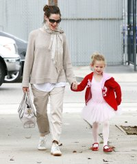 2010 Violet Affleck Ben Affleck and Jennifer Garner Family Album