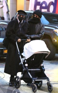 Gigi Hadid Steps Out With Her Newborn Daughter and Sister Bella in NYC: See Photos!