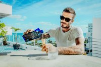 David Beckham Pouring Haig Club Clubman Whisky
