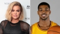 Khloe Kardashian Visits Boyfriend Tristan Thompson in Boston
