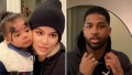 Khloe Kardashian and True Receive Celtics Swag for Tristan